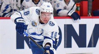 Česká smůla v NHL! Palát se zranil a může Tampě chybět dva měsíce