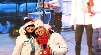 Ledecká: Přivítání v Česku? Asi jsem se proslavila! Myslí na letní olympiádu