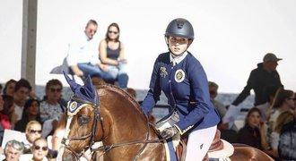 Parkurová jezdkyně Kellnerová: Hrála jsem si s koníky, ne s panenkami