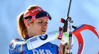 Šampionka Koukalová se k biatlonu nechce vracet: Gabčo, byla to jízda!