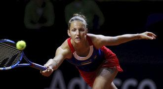 Plíšková vydřela postup s ruskou outsiderkou, ve Stuttgartu je ve čtvrtfinále