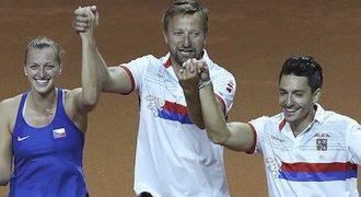 Tenistky slavily finále šesté finále za osm let, tým křepčil na kurtu