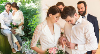 Brankář Neuvirth si vzal zpěvačku Gudasovou: Pohádková svatba teprve bude!
