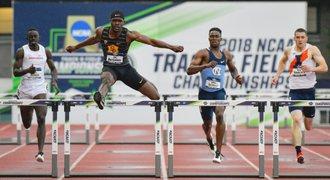Šok v atletice! Dvacetiletý student zaběhl druhý nejlepší čas v historii na 400 metrů překážek