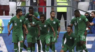 Saúdská Arábie - Egypt 2:1. Salahův gól nestačil, jeho tým končí bez bodu