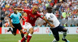 Dánsko – Francie 0:0. Seveřané díky remíze a pomoci Peru postupují