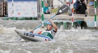 Kajakář Prskavec vybojoval na Světovém poháru v Krakově bronz