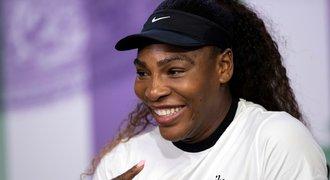 Serena Williamsová touží být pod tlakem a dál vyhrávat