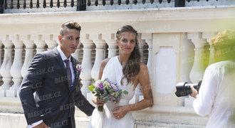 Plíšková o monacké veselce s Hrdličkou: Naše svatba? Byl to vlastně jen rodinný oběd