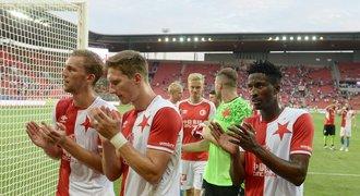 SESTŘIH: Slavia - Opava 3:1. Další výhru zajistili Hušbauer a Olayinka