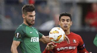 Rennes - Jablonec 2:1. Bod byl blízko, rozhodla penalta v nastavení