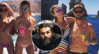 Sexy dovolená ve Vegas už nebude! Rozchod Jágrova kamaráda z NHL s krásnou miss