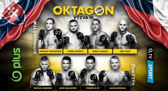 Organizace OKTAGON MMA tvoří hvězdy: Za bitky statisíce!