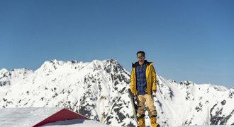 Cristovao se po vážném úrazu vrátil na snowboard: Nejsem kokos na sněhu!