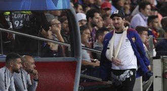 Messi poprvé od zranění trénuje. Zahraje si už o víkendu?