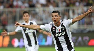 Ronaldo má první trofej s Juventusem! Vystřelil titul v Superpoháru
