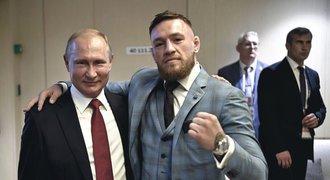 Rváč McGregor daroval whisky Putinovi: Strach z otravy prezidenta!