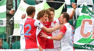 SESTŘIH: Bohemians - Slavia 0:3. Výhru řídily opory, v hlavní roli VAR