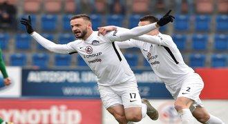 SESTŘIH: Slovácko - Příbram 2:0. Domácí vyhráli po šesti zápasech