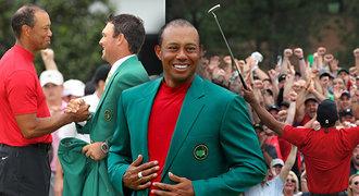 Chudák Tiger Woods! Proč ho navlékli do 22 let starého saka?