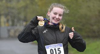 Míša, 15 let: Můj první běžecký závod. Nebojte se, zvládnete to i vy, vzkazuje