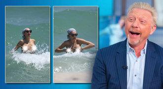 (S)exmanželka tenisty Beckera dráždila na Floridě. Ukázala svoje »vlnky«!
