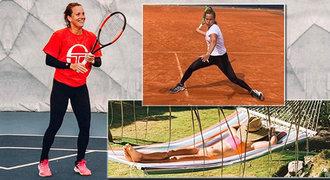 Tenistka Strýcová o dřině v tréninku: Odměňuju se i botami. Úlety? V jídle ne