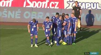 SESTŘIH: Olomouc - Teplice 2:0. Vítězství domácích trefili Plšek s Houskou