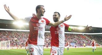 SESTŘIH: Slavia - Sparta 3:0. Domácí dominovali a jsou ve finále poháru