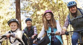 Cykloturistika s dětmi: čtyři tipy na místa, která nadchnou celou rodinu
