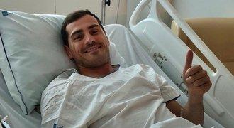 Jak je na tom Casillas? Po infarktu měl štěstí, další kariéra je ale nejistá