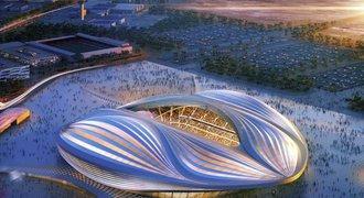Vagina je připravena! V Kataru představili stadion pro MS ve fotbale pro rok 2022