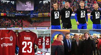 Nastoupilo 22 Šuralů. Na Spartu přijel uctít památku i šéf tureckého klubu