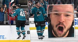 Hertl drtí NHL v gólech i bodech. Je naprostý zvíře, žasnou v zámoří