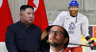 Nejšílenější sázky na hokej: Ovčáček mluvčím reprezentace, na MS přijede Kim Čong-un!