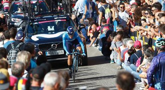 Carapaz vyhrál 4. etapu Gira. Vedení v celkovém pořadí si upevnil Roglič