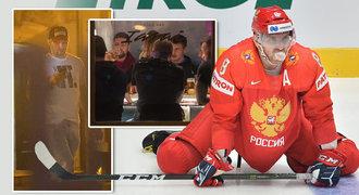 Vypili všechno pivo! Ruští hokejisté po výhře nad Českem slavili v centru Bratislavy