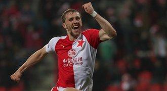 SESTŘIH: Slavia - Jablonec 2:1. Domácí bod od titulu, rozhodl Souček