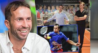Štěpánek je znovu českou jedničkou! A už zase hledá tričko se lvem, porve se o Davis Cup?