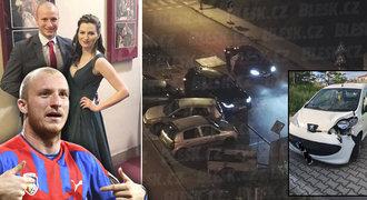 Nehoda vozu střelce Krmenčíka: Rozlučka se svobodou. A pak »bourala manželka«