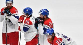 Česko - Kanada 1:5. Zlatý sen je pryč, soupeř školil v produktivitě