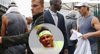 Nadalův vyhrocený trénink v Paříži! V pohotovosti bylo jedenáct bodyguardů