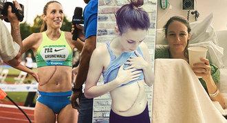 Zemřela běžkyně (†32) po 10 letech boje s rakovinou. Ukazovala i jizvu