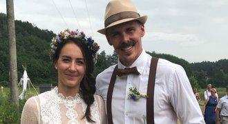Bývalá manželka tenisty Rosola se vdala: Měla trápení s novým příjmením!
