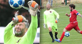 Nedvěd jako Buffon: Vylámali si na mně zuby, zářil manažer nároďáku
