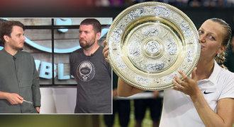 INSIDER k Wimbledonu: Kvitová i přes zranění může z Češek dojít nejdál