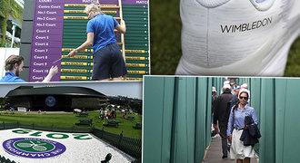 Takové je zákulisí Wimbledonu: tenisky s nápisy i místa, kam se nesmí