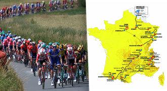 6bdedec24f5d8 Profily všech 21 etap Tour de France: kopce a trasy, kdy na Tourmalet?
