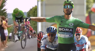 Sagan při dřině na Tour najde síly i na vtípky. Zdravil bývalého parťáka