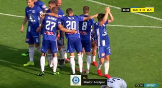 SESTŘIH: Olomouc - Zlín 1:0. První Látalova výhra, rozhodl Nešpor